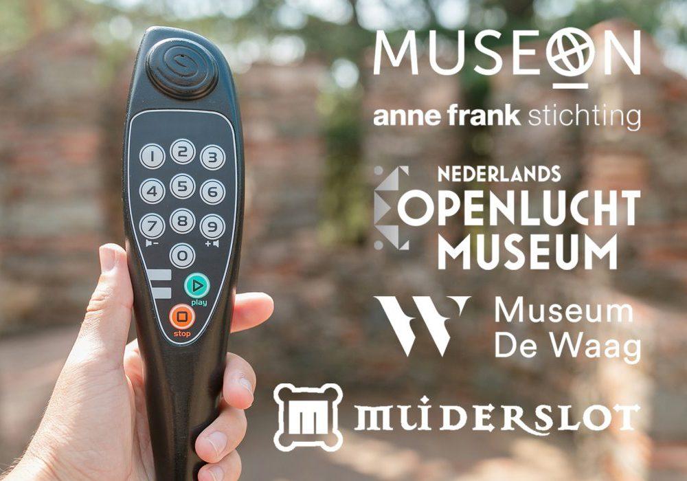 Audiotours voor musea