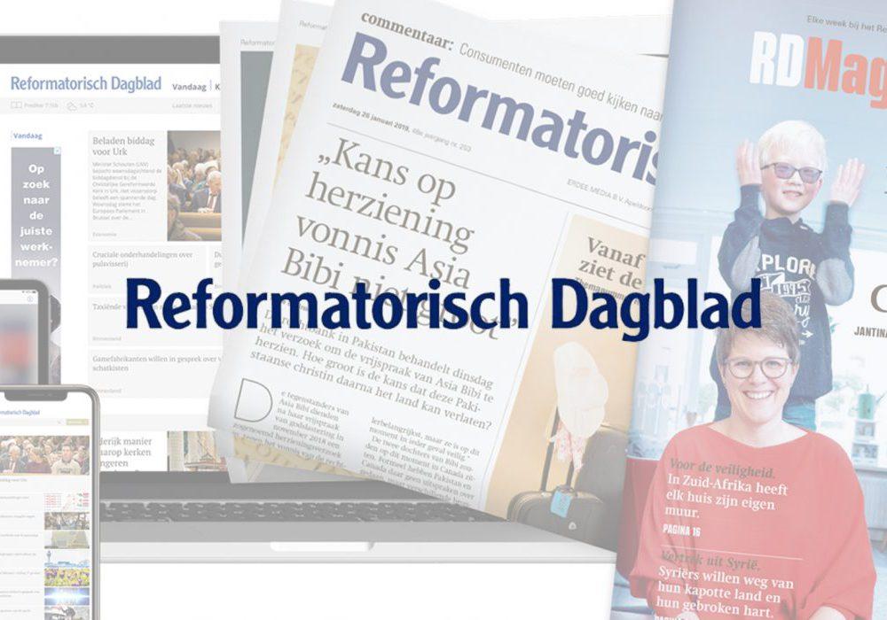 Commercial voor Reformatorisch Dagblad