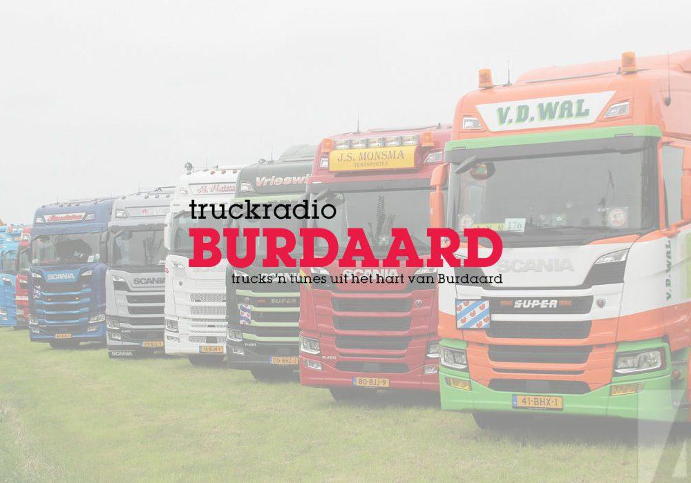 Vormgeving voor Truckradio Burdaard